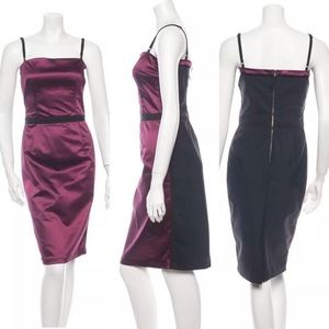 Violet&Black D&G sleeveless sexy women dress 40